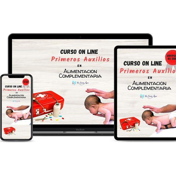 Imagem principal do produto Curso Primeros Auxilios en Alimentación Complementaria