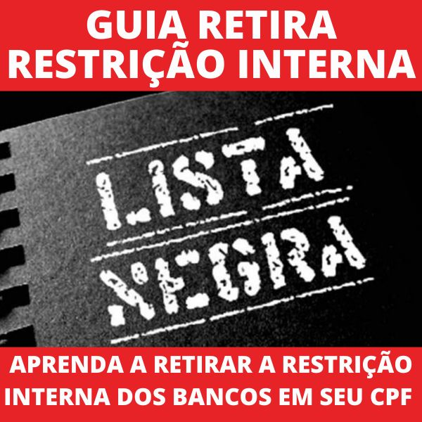 Imagem principal do produto Guia Retira Restrição Interna do CPF