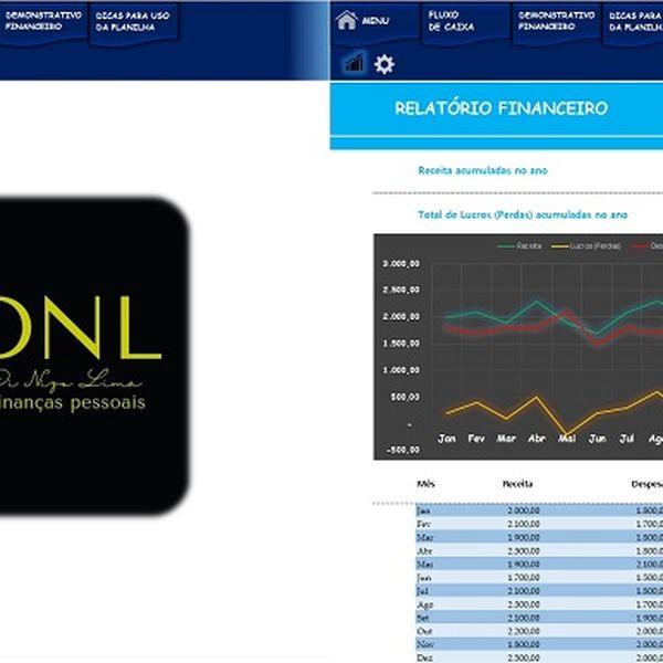 Imagem principal do produto DNL - Controle financeiro básico