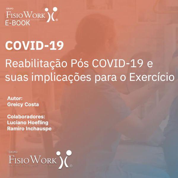 Imagem principal do produto E-Book - Manual para Reabilitação pós COVID-19 - O Guia Definitivo