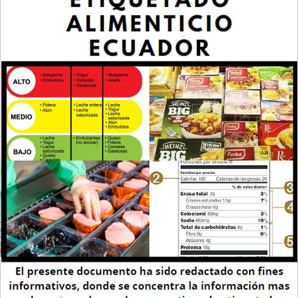 Imagem principal do produto Guía de etiquetado de productos Ecuatorianos