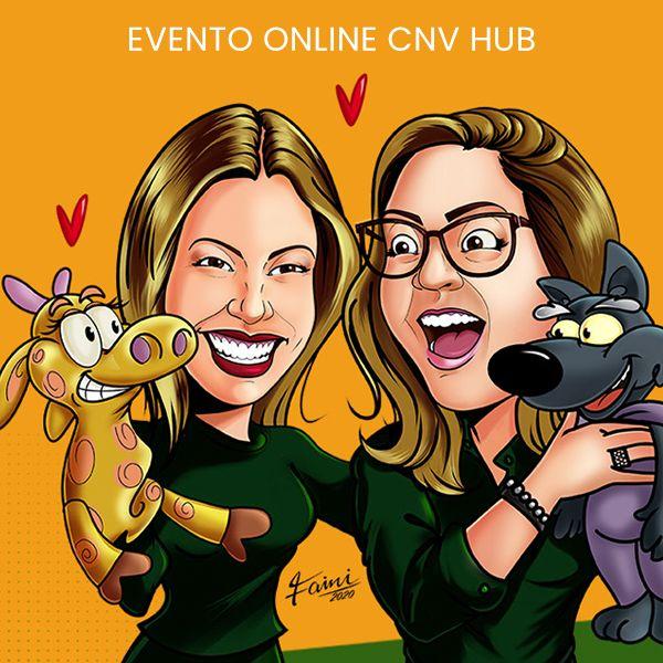 Imagem principal do produto Evento Online CNV HUB
