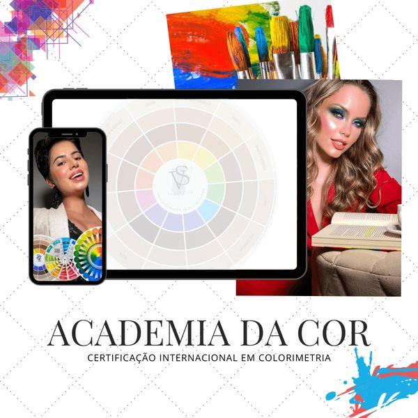 Imagem principal do produto Academia da Cor - Colorimetria na Maquiagem