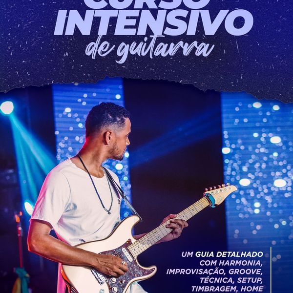 Imagem principal do produto CURSO INTENSIVO DE GUITARRA