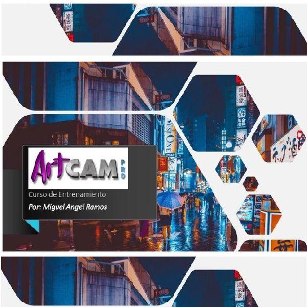 Imagem principal do produto Curso Basico de ArtCam 2020