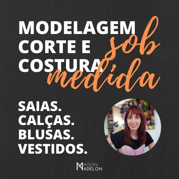Imagem principal do produto MODELAGEM, CORTE E COSTURA SOB MEDIDA - INICIANTES