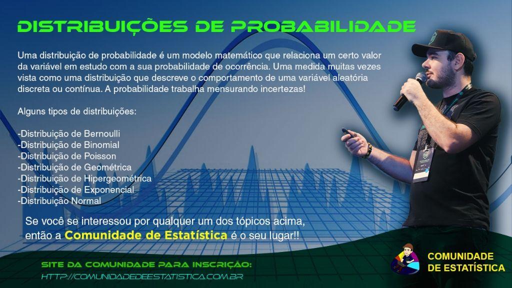Comunidade Estatística do Prof. Thiago Marques