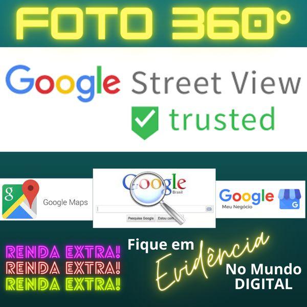 Imagem principal do produto Grana Extra Com FOTOS 360° Publicando Seus Clientes No GOOGLE MAPS e BUSCA GOOGLE Direto do Celular