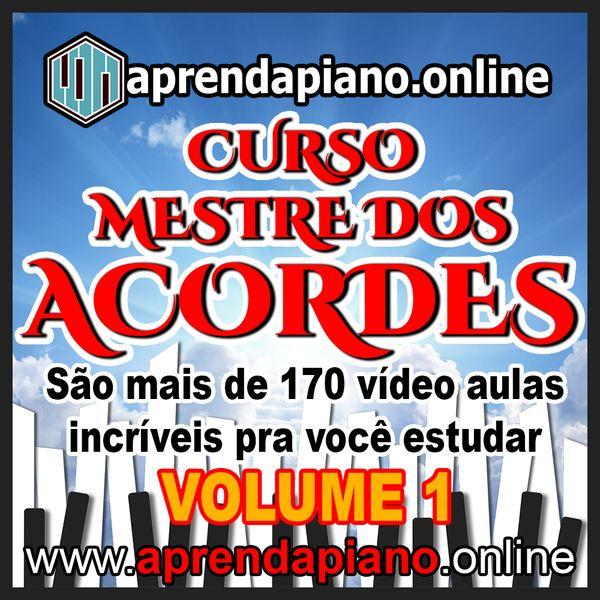 Imagem principal do produto CURSO MESTRE DOS ACORDES - TECLADO E PIANO