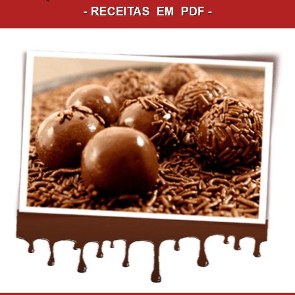 Imagem principal do produto Coletânea Quitutes Da Nora - Brigadeiros Gourmet