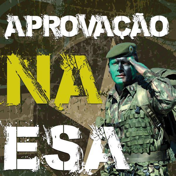 Imagem principal do produto Aprovação na ESA (Escola de Sargentos das Armas) - RUMO À APROVAÇÃO!!!