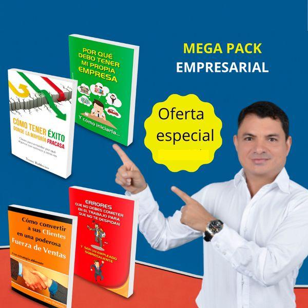 Imagem principal do produto Meg Pack Empresarial Para Emprender con Éxito y Potencializar Equipos