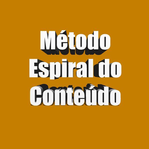 Imagem principal do produto Método Espiral do Conteúdo