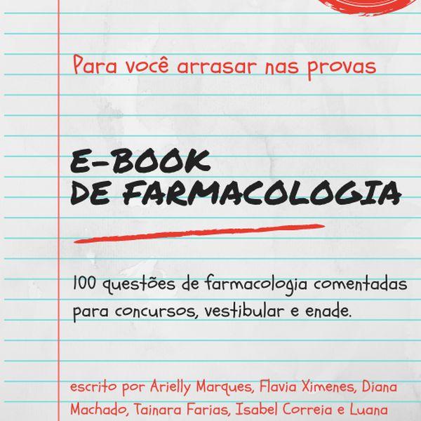 Imagem principal do produto E-book de Farmacologia