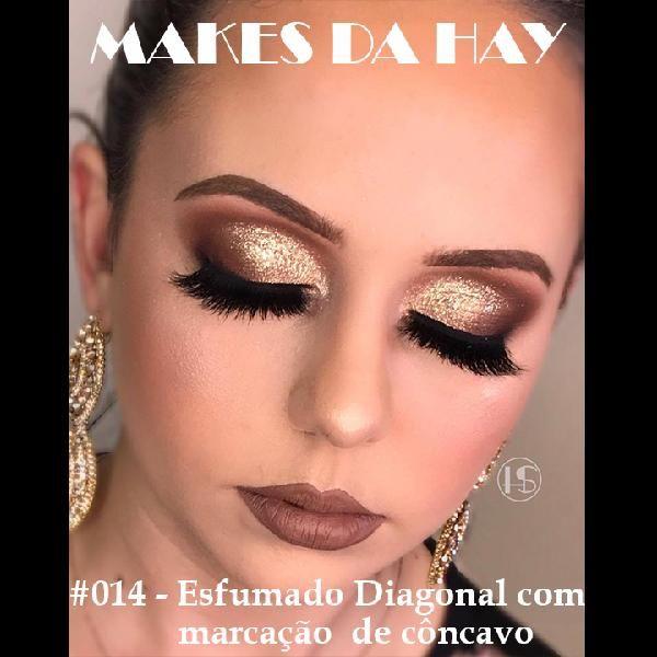 Imagem principal do produto Makes da Hay #014 - Esfumado Diagonal Com Marcação de Côncavo