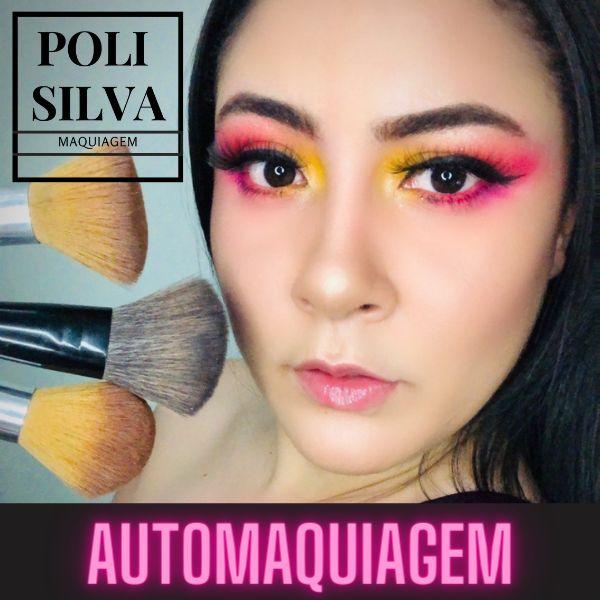 Imagem principal do produto Automaquiagem com a Poli Silva