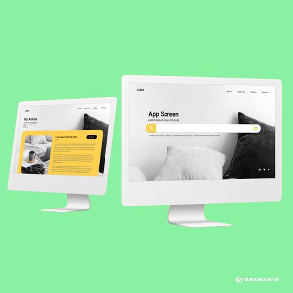 Imagem principal do produto Criação de site