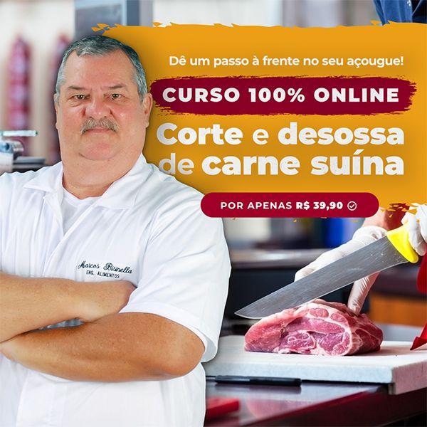 Imagem principal do produto Curso de Corte e desossa de carne suína