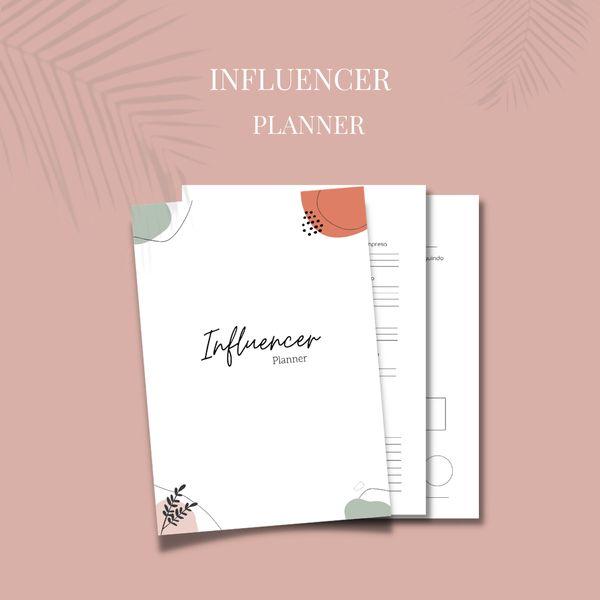 Imagem principal do produto Influencer Planner