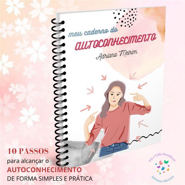 Imagem principal do produto Caderno do Autoconhecimento