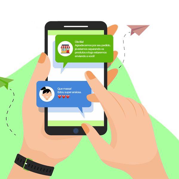 Imagem principal do produto Automatizão de mensagens no WhatsApp