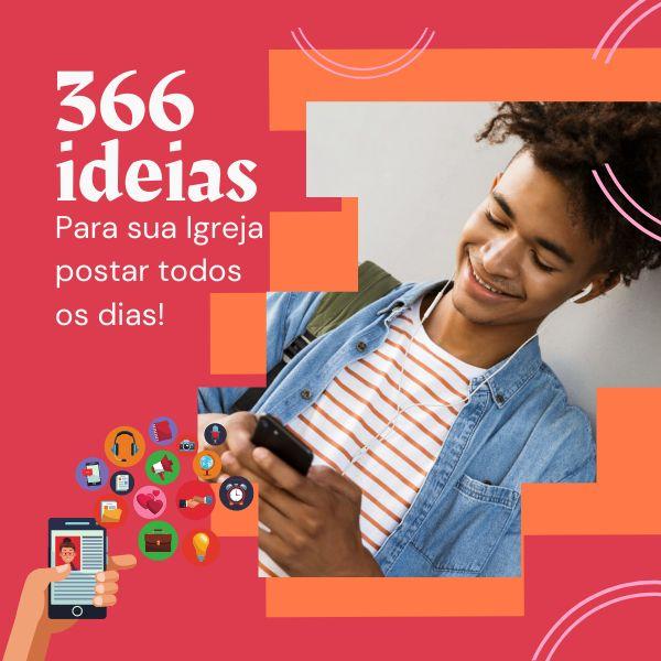 Imagem principal do produto Calendário de Conteúdo de Mídias Sociais 2021 para Igrejas