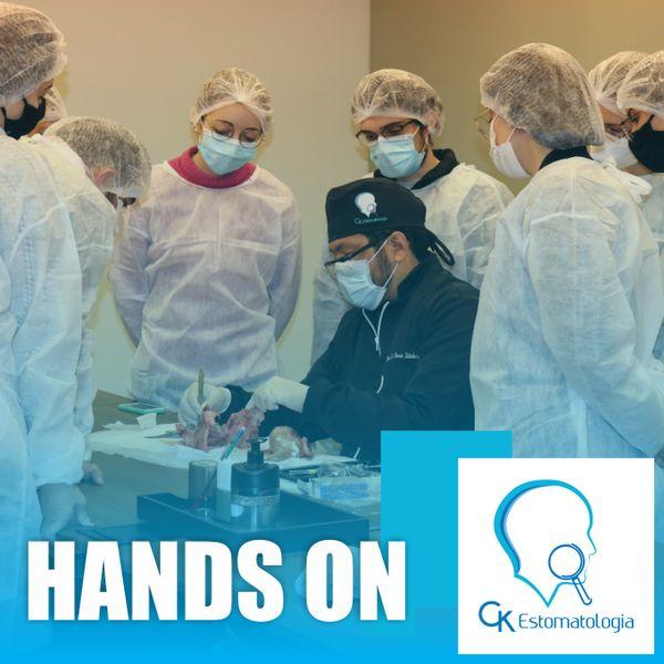 Imagem principal do produto CURSO HANDS ON - CK Estomatologia | Para profissionais e acadêmicos de odontologia - Prof. Dr. Dárcio Kitakawa e Prof. Dr. Luis F. Carvalho