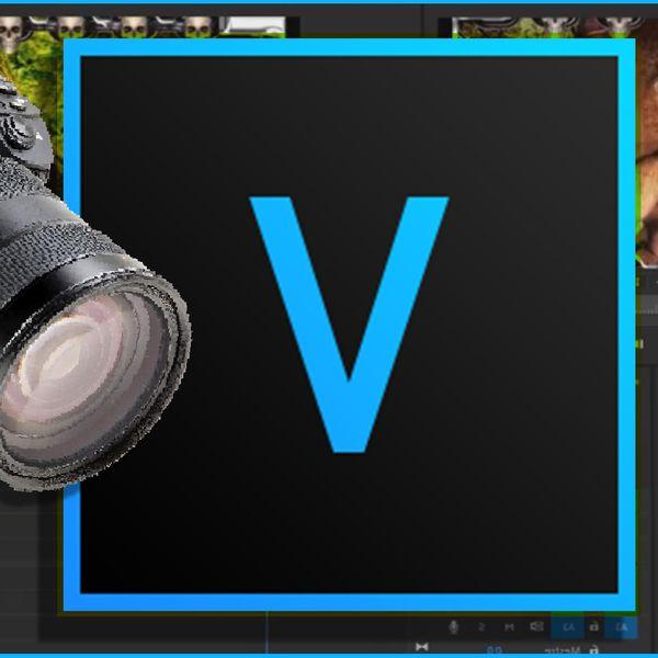 Imagem principal do produto VEGAS PRO 17 - do básico ao avançado + apostila + Curso Camtasia 8