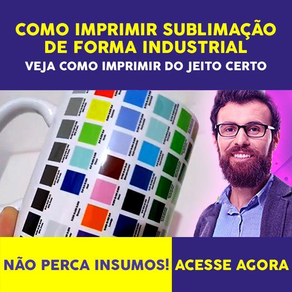 Imagem principal do produto COMO IMPRIMIR PARA SUBLIMAÇÃO!