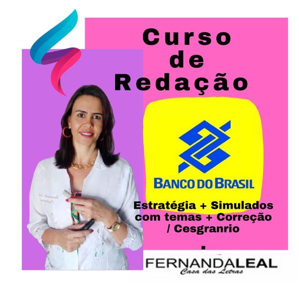 Imagem principal do produto Curso Prático e Rápido de Redação para  o Concurso do Banco do Brasil.
