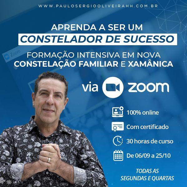 Imagem principal do produto Formaçāo em ''Constelaçāo Familiar & Xamânica'' - Pelo ZOOM (06.09 até 25.10)