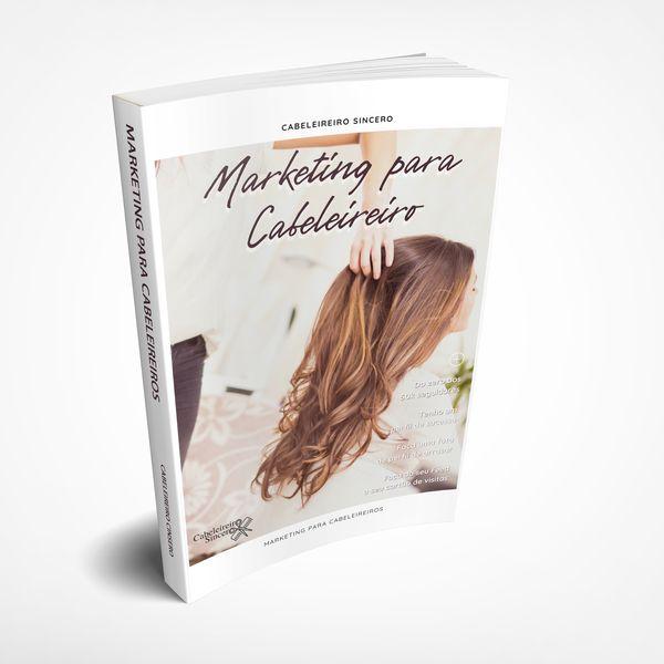 Imagem principal do produto e-book Marketing para Cabeleireiros
