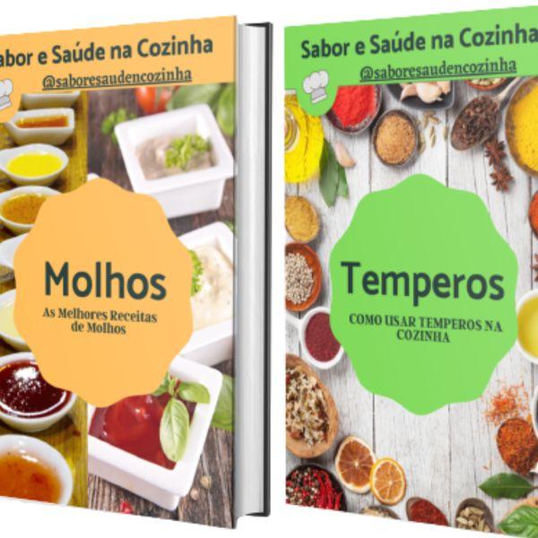 Imagem principal do produto Ebook Receitas de Molhos + Ebook Brinde Temperos