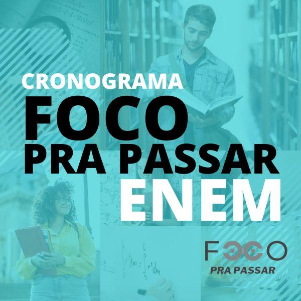 Imagem principal do produto CRONOGRAMA FOCO PRA PASSAR