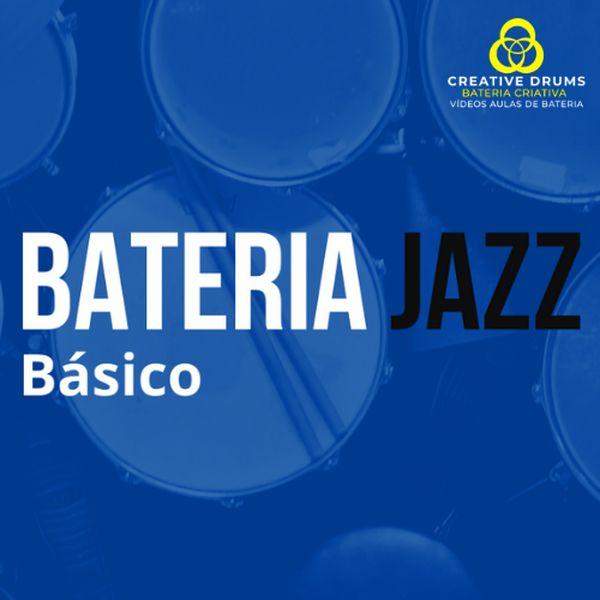 """Imagem principal do produto Apostila """"BATERIA JAZZ - básico"""""""