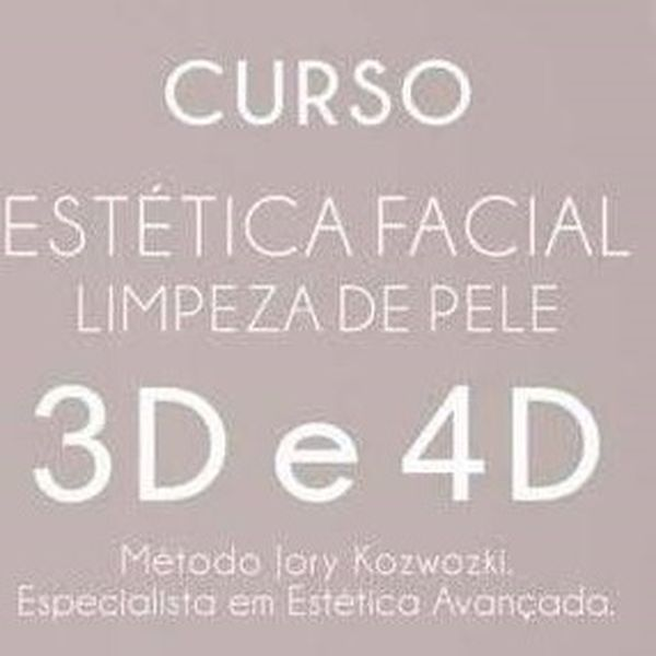 Imagem principal do produto Curso de Limpeza de PELE 3D e 4D