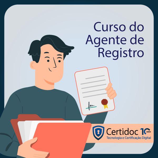 Imagem principal do produto Curso de Agente de Registro - Certidoc