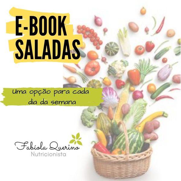 Imagem principal do produto Ebook SALADAS