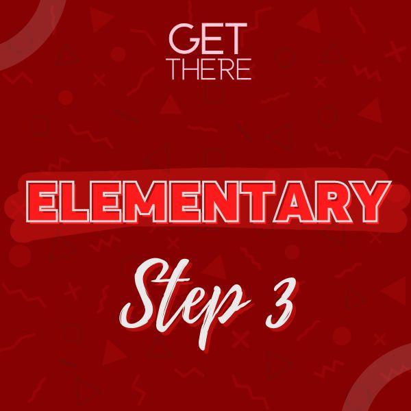 Imagem principal do produto Elementary - Step 3