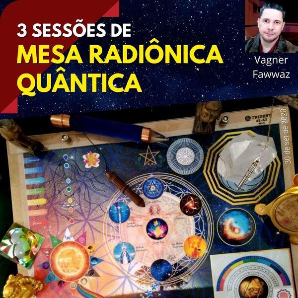 Imagem principal do produto Curso de Mesa Radiônica Quântica