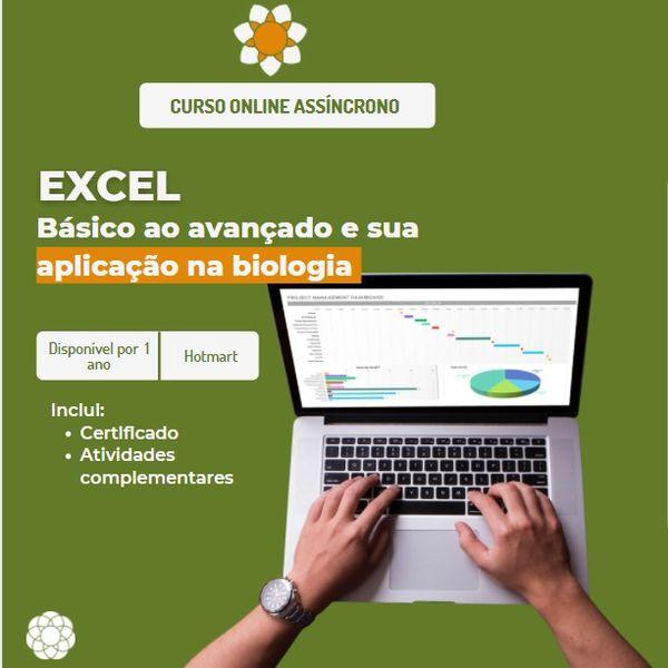 Imagem principal do produto Excel:Do Básico Ao Avançado Aplicado a Biologia