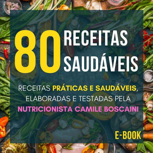 Imagem principal do produto 80 Receitas Saudáveis - E-book
