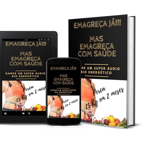Imagem principal do produto Emagreça Já!!! Mas Emagreça Com Saúde