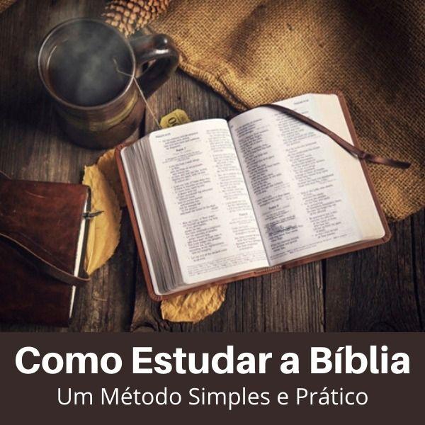 Imagem principal do produto Como estudar a Bíblia