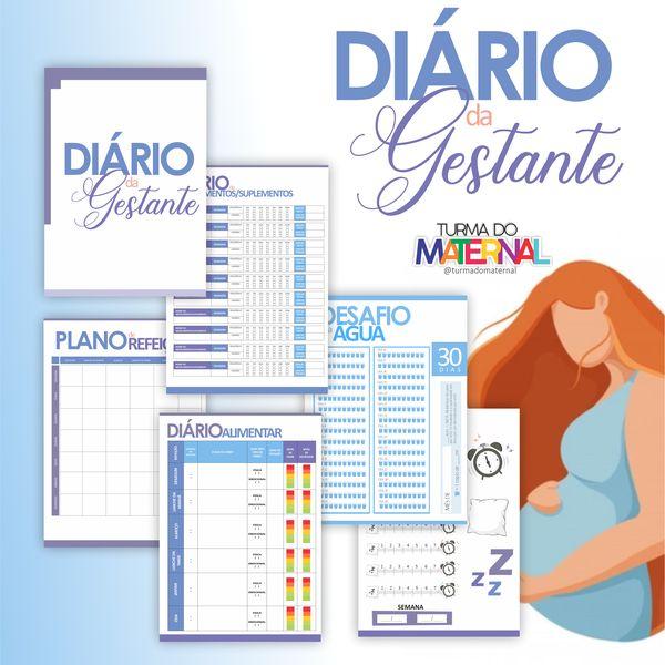 Imagem principal do produto DIÁRIO DA GESTANTE