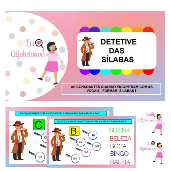 Imagem principal do produto Detetive das Sílabas