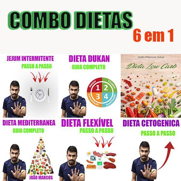 Imagem principal do produto Combo Dietas  6 em 1 ( as melhores dietas )