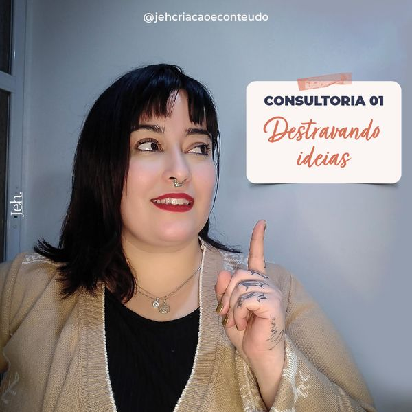 Imagem principal do produto Consultoria 01- DESTRAVANDO IDEIAS