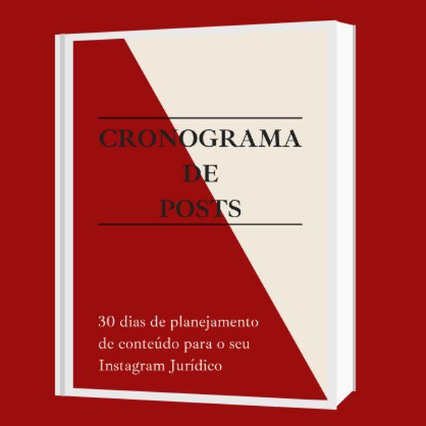 Imagem principal do produto Cronograma de Posts Estudante Expert