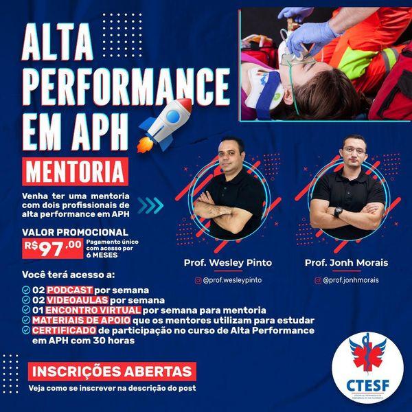 Imagem principal do produto Alta Performance em Atendimento Pré-Hospitalar - APH